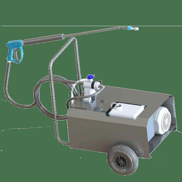 nettoyeur haute pression desinfection