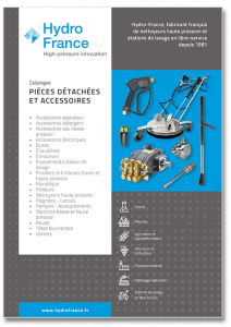 """Catalogue """"Pièces détachées et accessoires"""""""